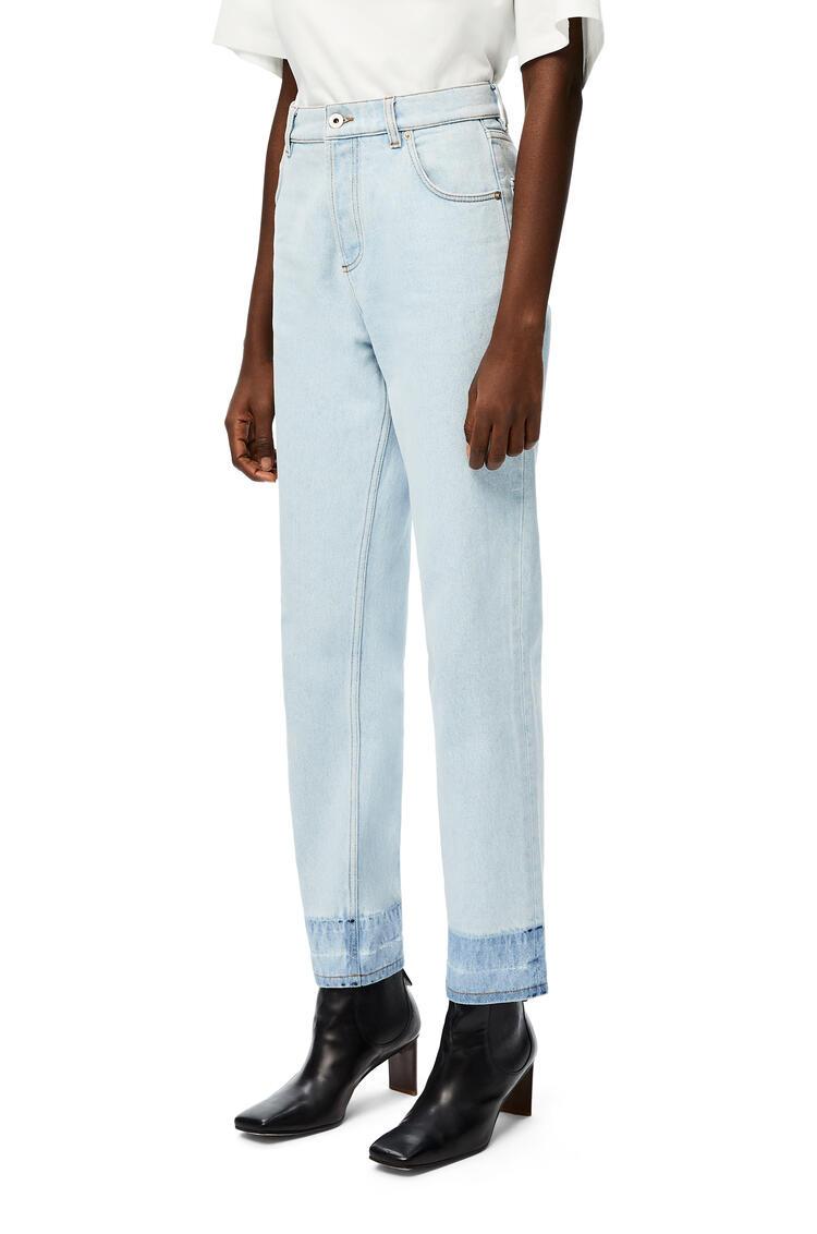 LOEWE Tapered leg jeans in denim Light Blue pdp_rd
