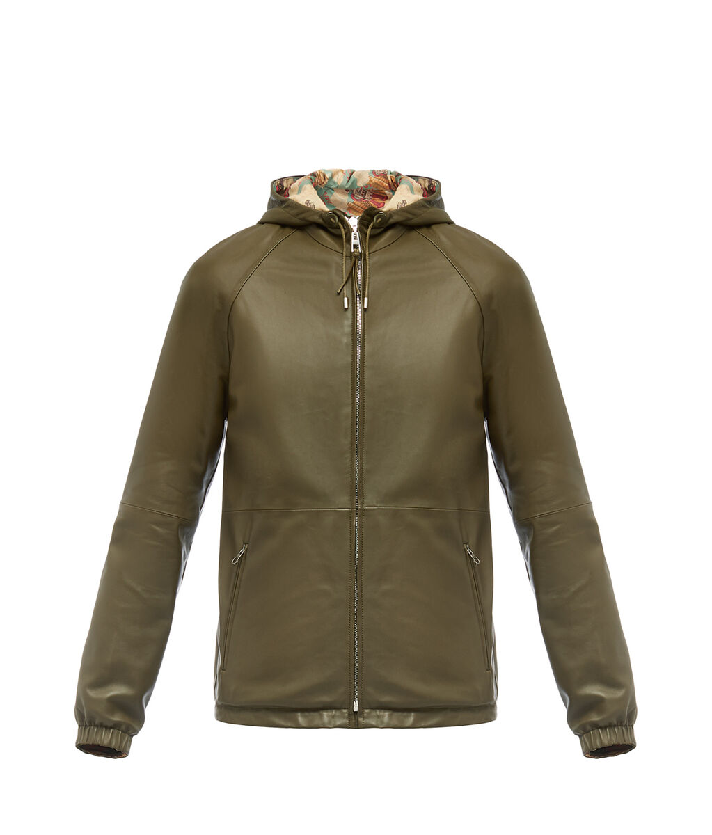 H5198260AV-4430 LOEWE Reversible Anorak Military Green all a2ba0021609