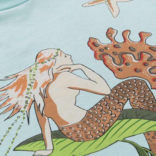 LOEWE T-Shirt Paula Mermaid Aqua all