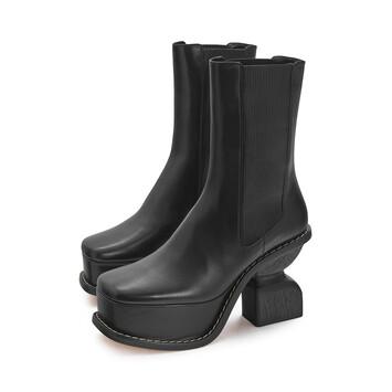 LOEWE Platform Boot 100 Black front