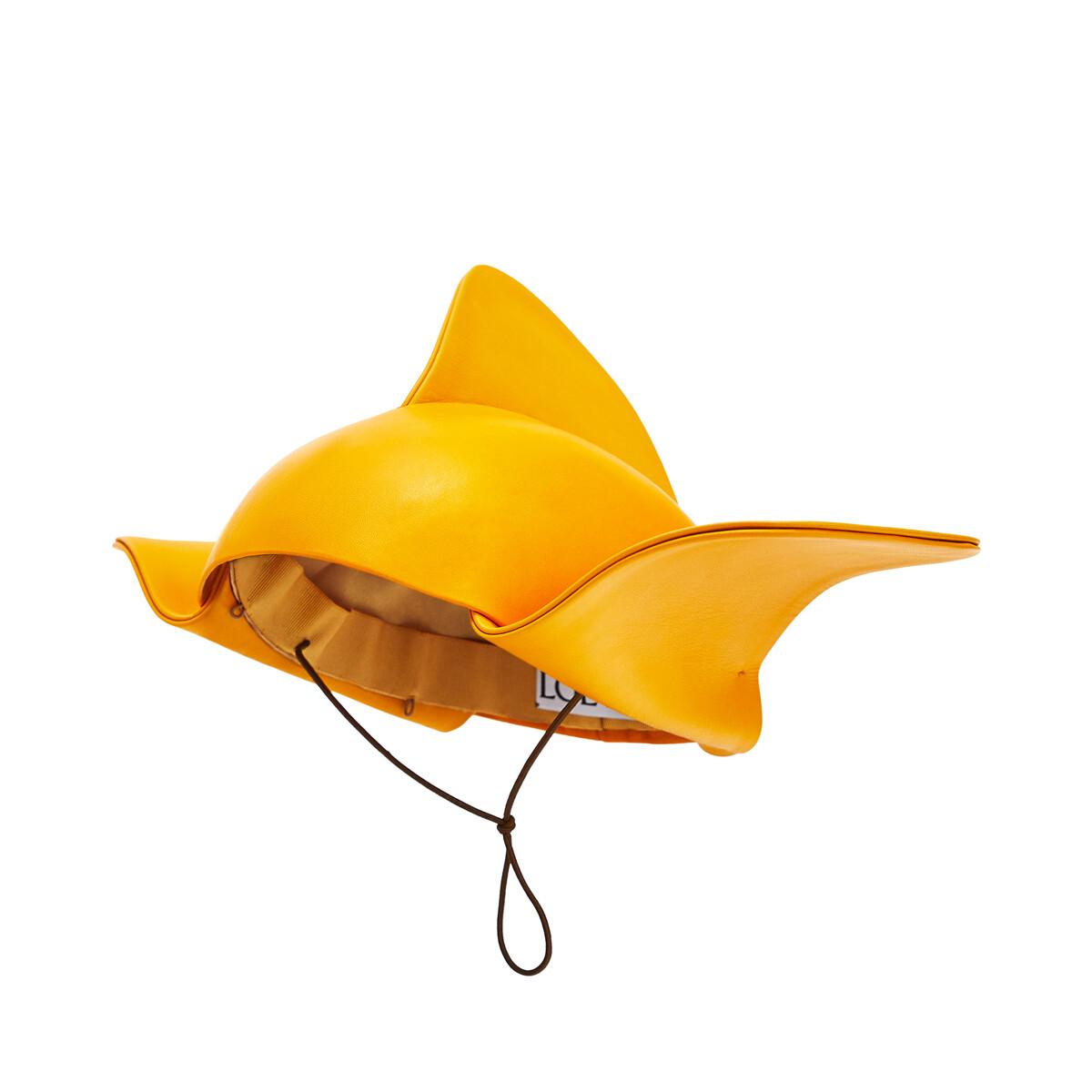 LOEWE Wings Hat Yellow Mango front