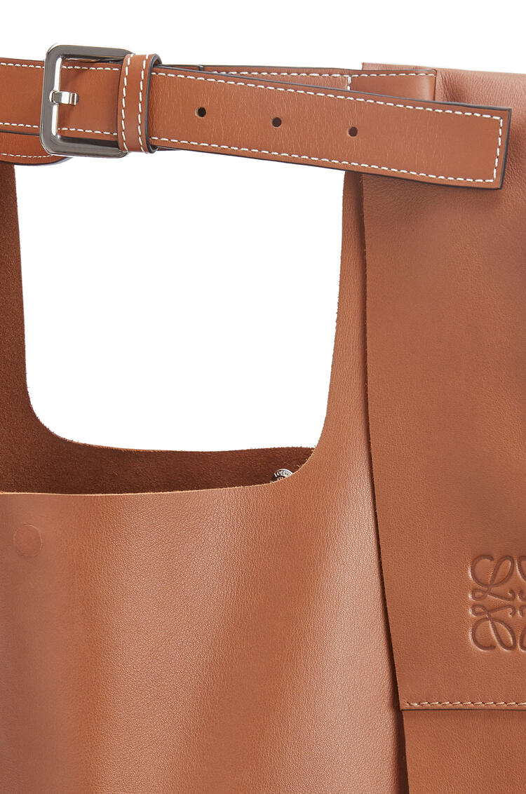LOEWE Shopper backpack in nappa calfskin Tan pdp_rd