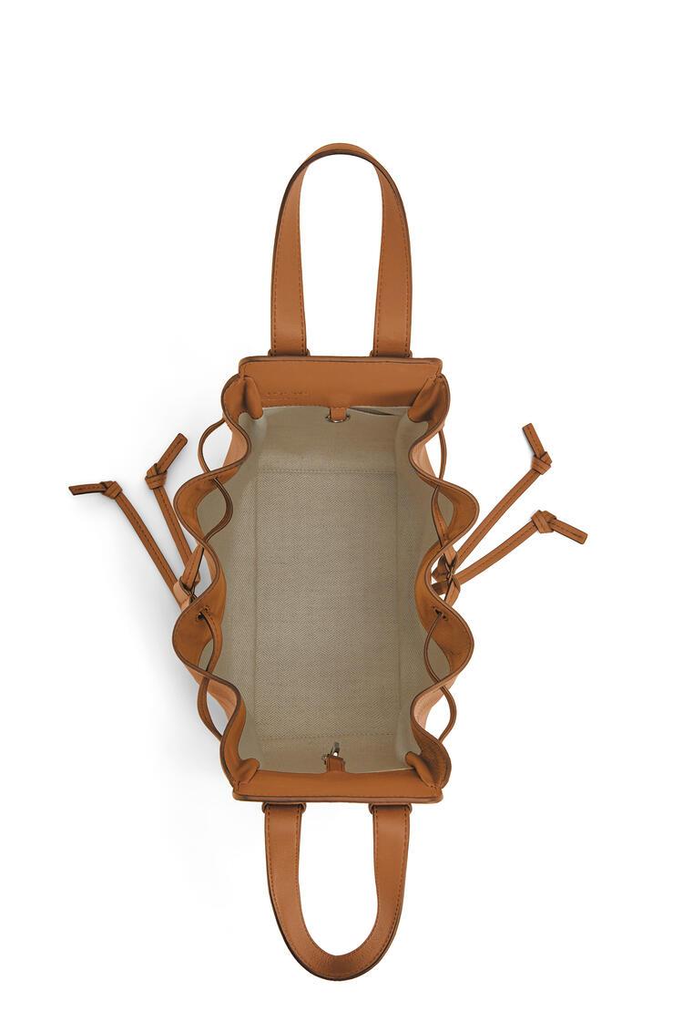LOEWE ハンモック ドローストリングバッグ スモール(ナパ カーフスキン) ライトキャラメル pdp_rd