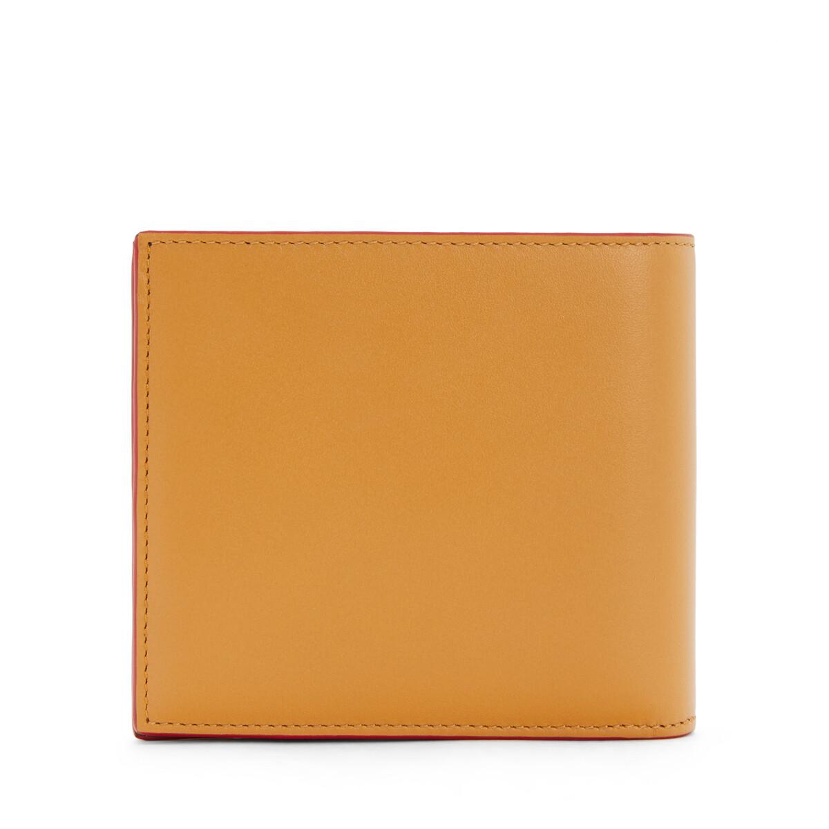 LOEWE Brand Bifold Wallet Honey front