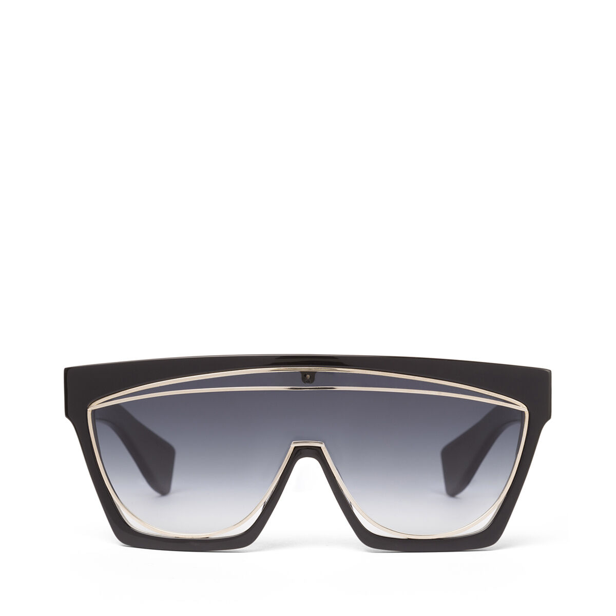 LOEWE Masque Sunglasses Black/Gradient Smoke all