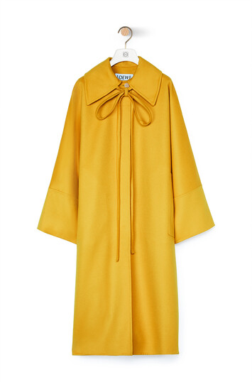LOEWE Oversize Coat Amarillo front