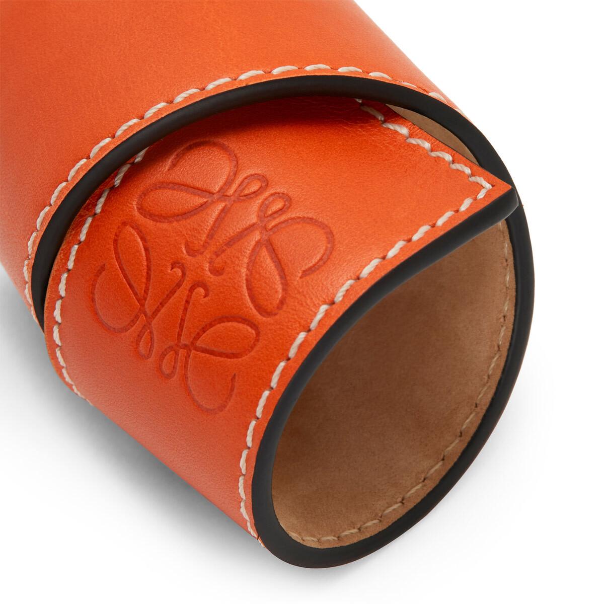 LOEWE Small Slap Bracelet Orange front