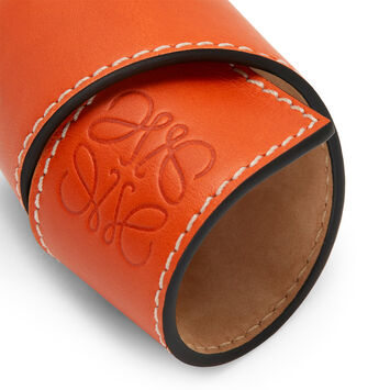 LOEWE Small Slap Bracelet 橙色 front