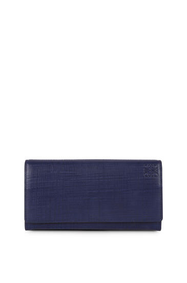 LOEWE Continental wallet in calfskin Navy Blue pdp_rd