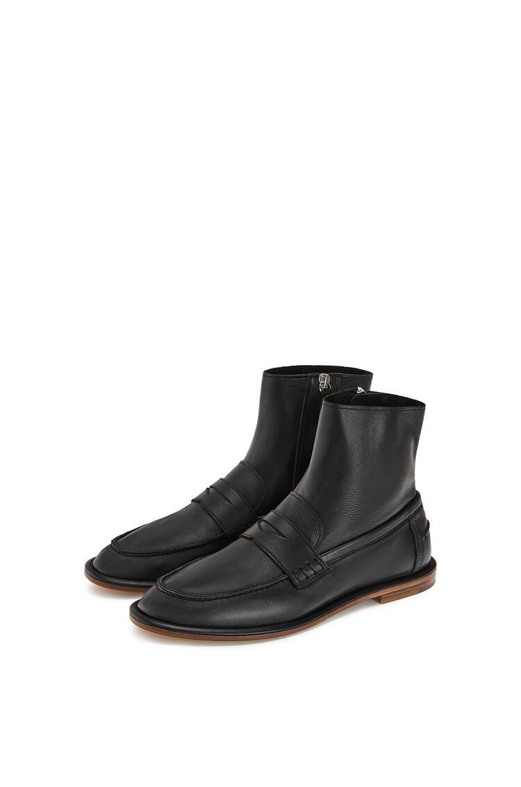 LOEWE Loafer Boot Black pdp_rd