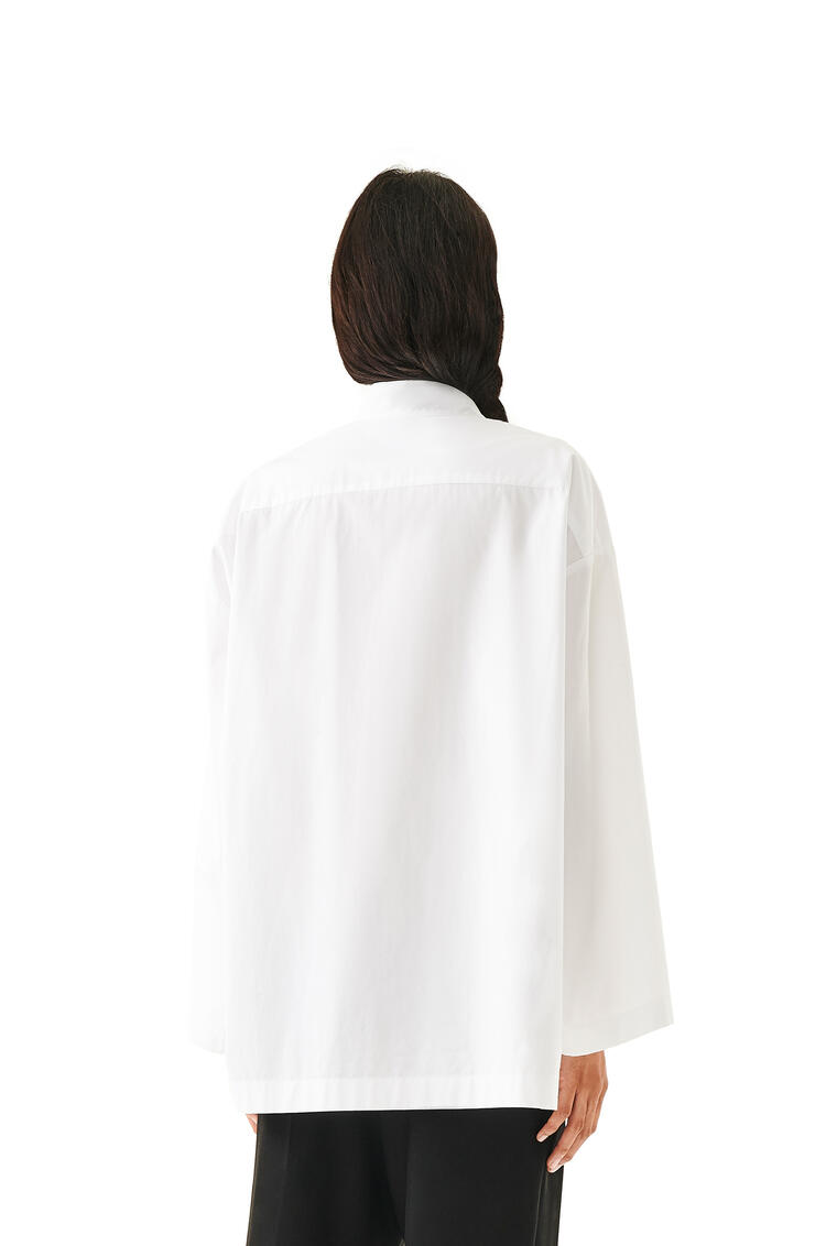 LOEWE Oversize shirt in cotton White pdp_rd