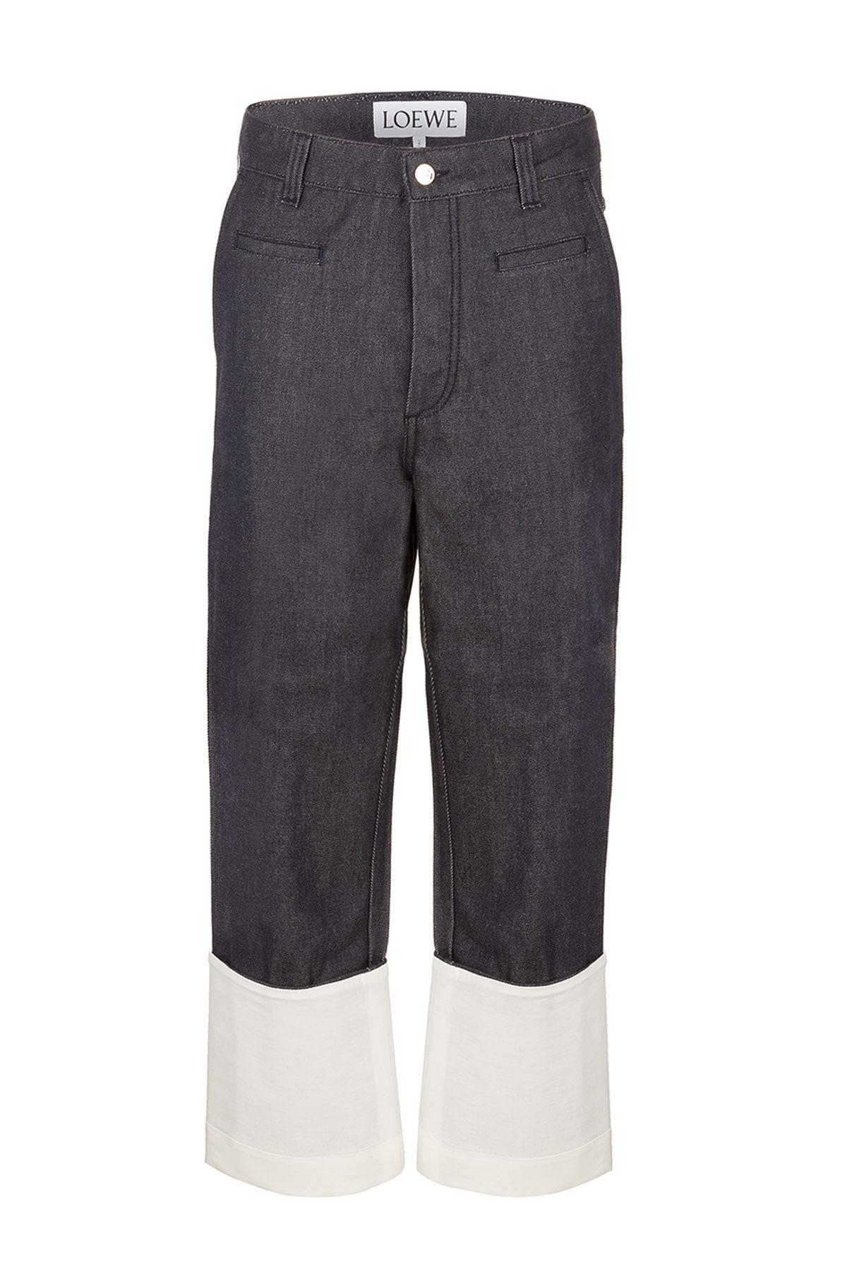LOEWE Fisherman Jeans Navy Blue all