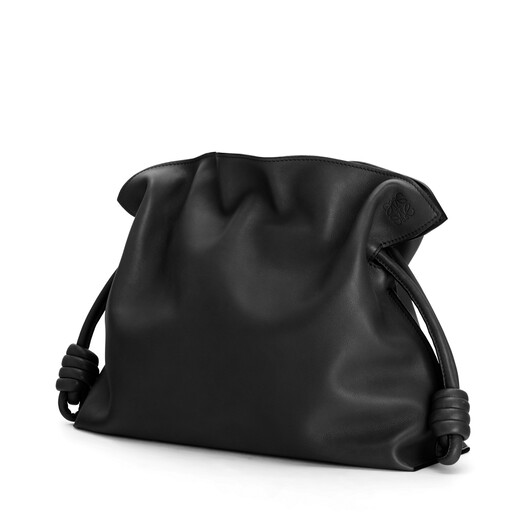 LOEWE Flamenco Clutch Black front