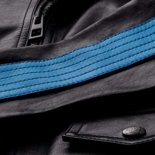 LOEWE Cazadora Negro/Azul all
