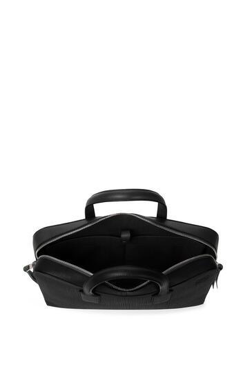 LOEWE Goya thin briefcase in calfskin Black pdp_rd