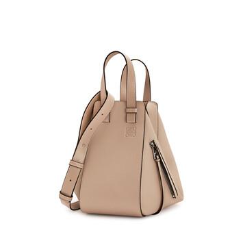 LOEWE Hammock Small Bag Light Oat  front