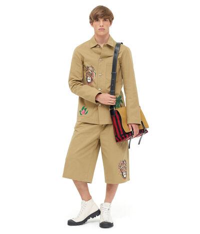 LOEWE Workwear Jacket Safari Beige front