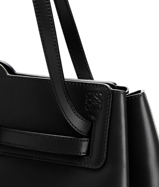 LOEWE Lazo Shopper ブラック front