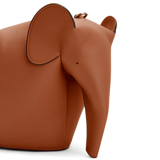 LOEWE Elephant Bag Tan front