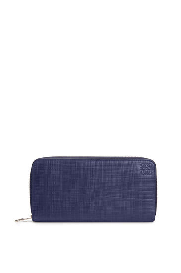 LOEWE Cartera Zip Around En Piel De Ternera Marino pdp_rd