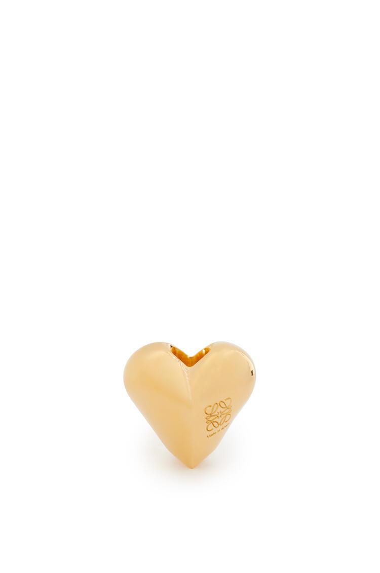 LOEWE Big heart dice in metal Gold pdp_rd