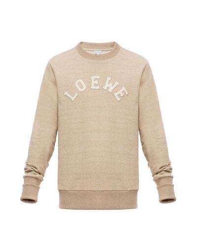 LOEWE Loewe Sweatshirt Beige front