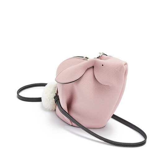LOEWE Bunny Mini Bag Pastel Pink front