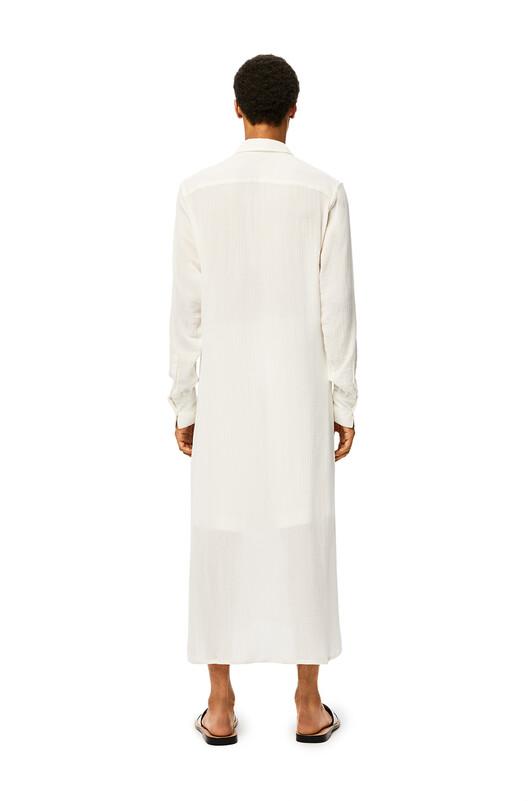 LOEWE Long Tunic White front