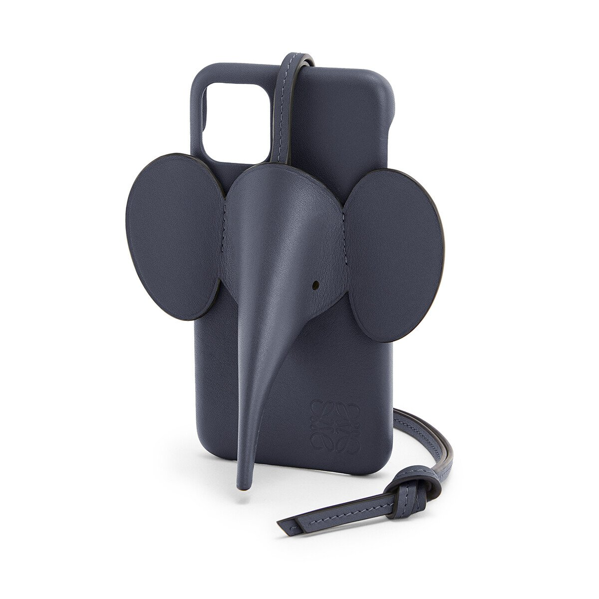 LOEWE Elephant Cover For Iphone 11 Deep Blue front