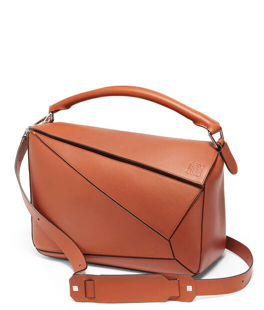 LOEWE Bolso Puzzle Grande Color Oxido front