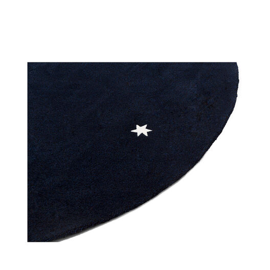 LOEWE Alfombra Star S Azul/Blanco all