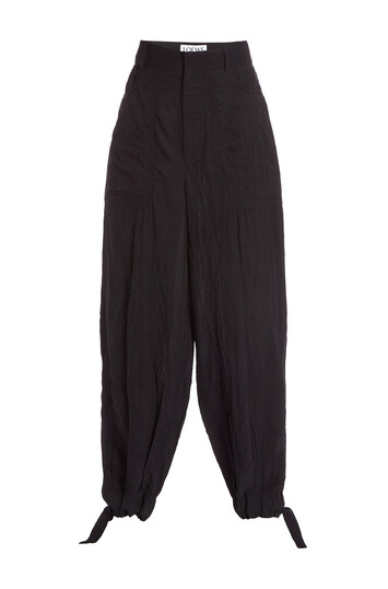 LOEWE Balloon Trousers Negro front