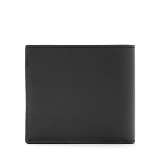 LOEWE Brand Bifold Wallet Black front