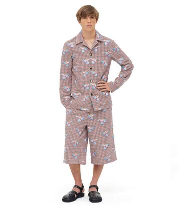 LOEWE Shorts Dumbo Multicolor front