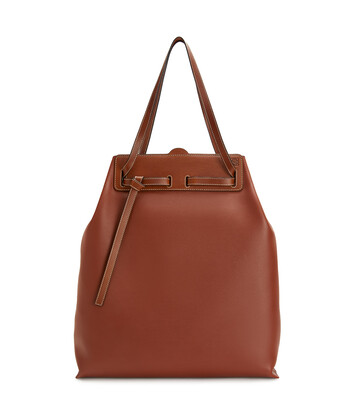 LOEWE Lazo Tote Rust Color front