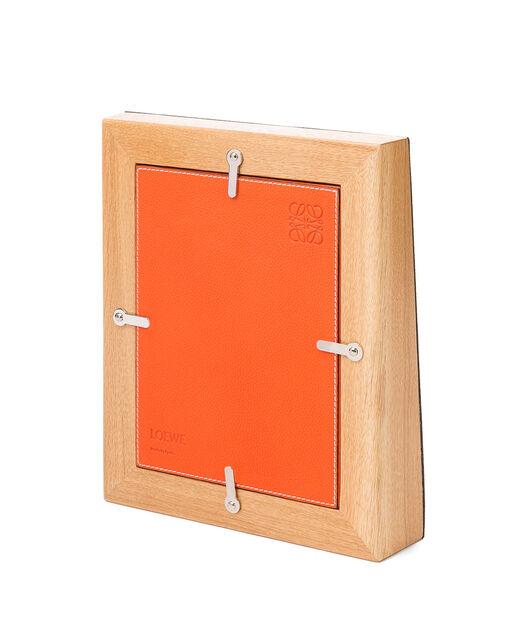LOEWE Photo Frame 橙色 front