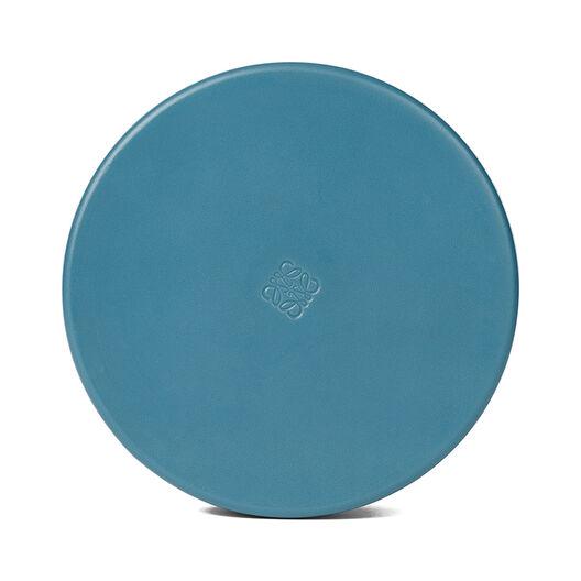 LOEWE Box Large Petroleum Blue front