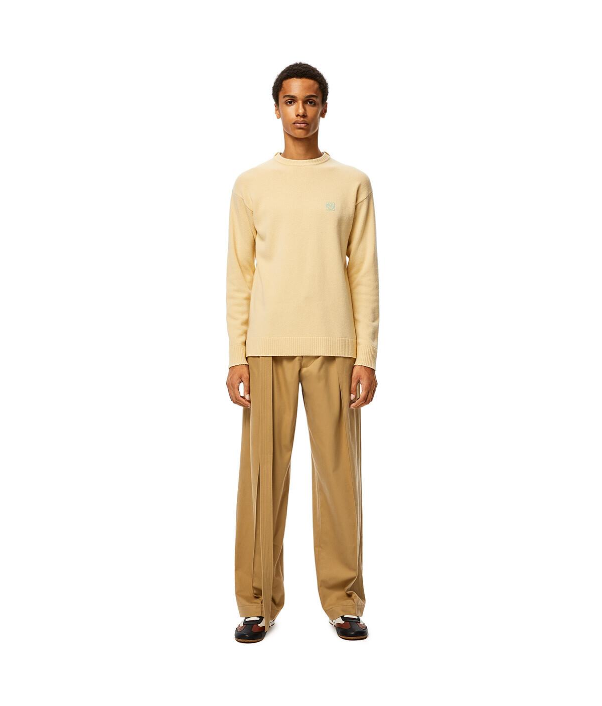 LOEWE Anagram Sweater Amarillo Claro front