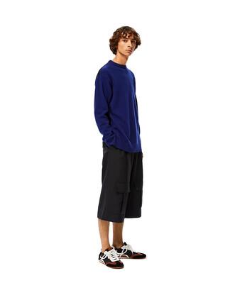 LOEWE Anagram Sweater Marino front
