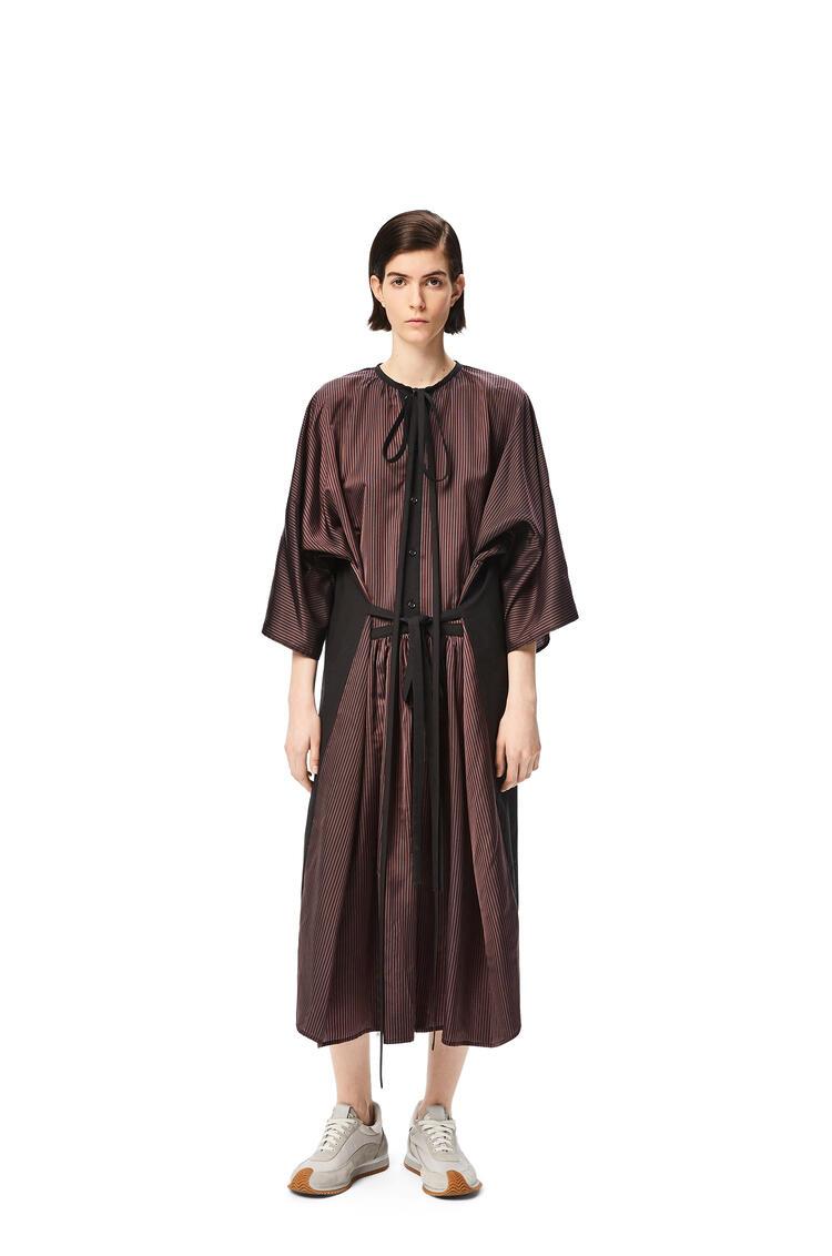 LOEWE Tunic patchwork midi dress Multicolor pdp_rd