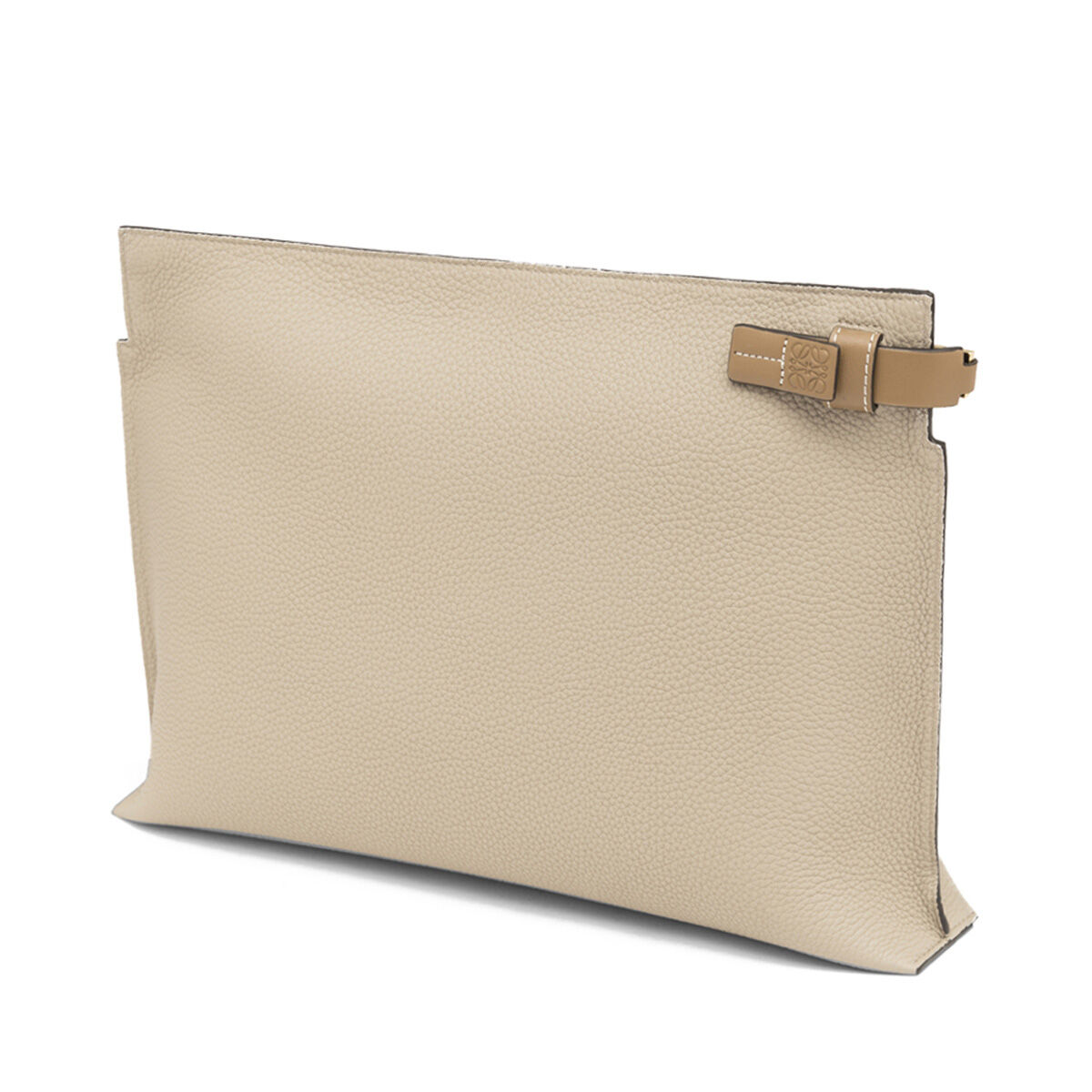 LOEWE T Pouch Sand all