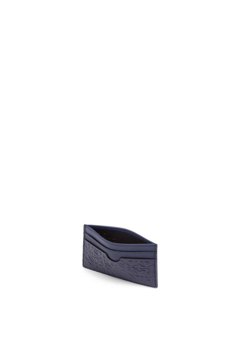 LOEWE Plain cardholder in calfskin Navy Blue pdp_rd