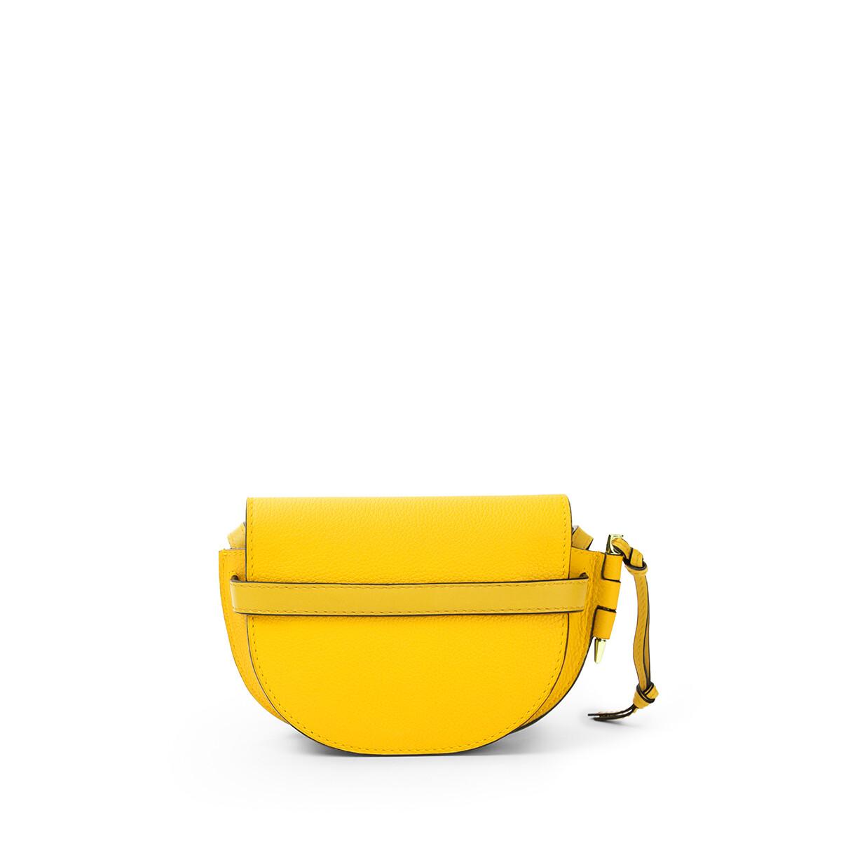 LOEWE Gate Mini Bag Yellow front