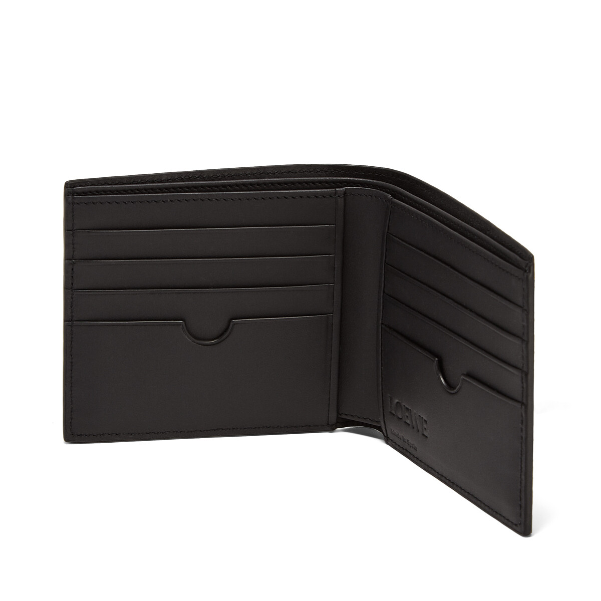 LOEWE Puzzle Bifold Wallet Indigo front