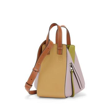 LOEWE Hammock Small Bag Lilac/Gold front