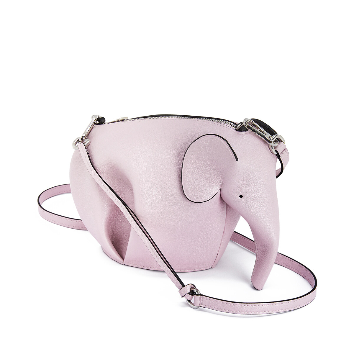 LOEWE エレファント ミニ バッグ Icy Pink front