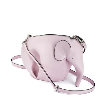 LOEWE Elephant Mini Bag Icy Pink front