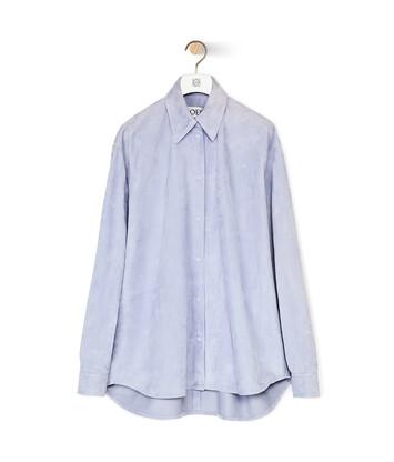 LOEWE シャツ ライトブルー front