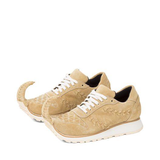 LOEWE Sneaker Dinosaurio Oro all