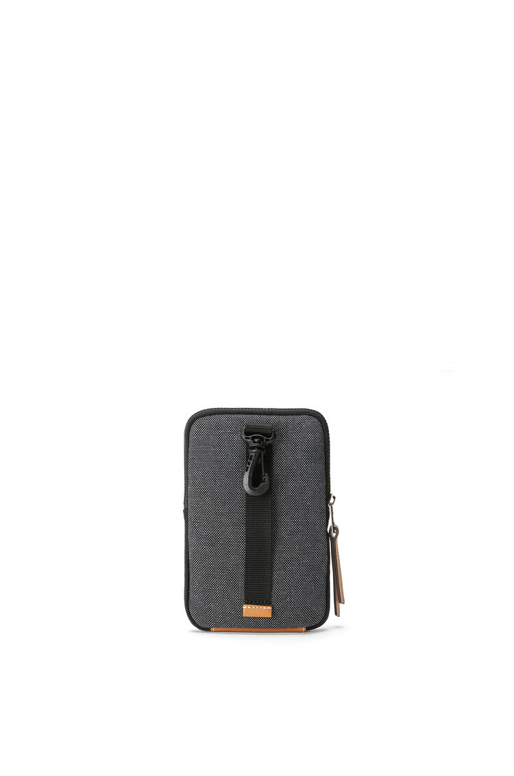 LOEWE Eye/LOEWE/Nature Case in canvas Black pdp_rd